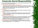 corporate social responsibility31