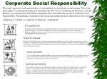 corporate social responsibility35