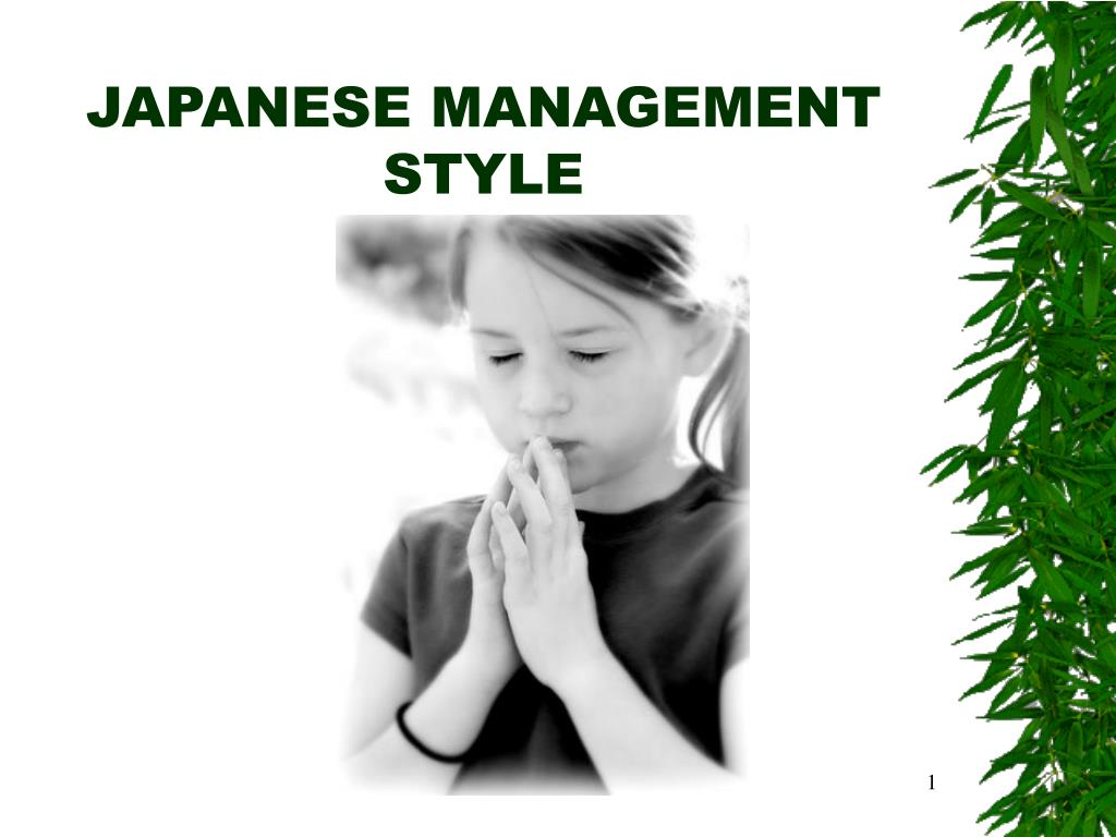 japanese management style l.
