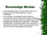 knowledge worker24