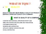 what is tqm18