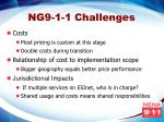 ng9 1 1 challenges