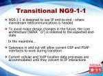 transitional ng9 1 1