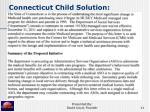 connecticut child solution