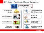 21 st century realities for midsize companies