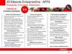 jd edwards enterpriseone apps designed delivered deployed