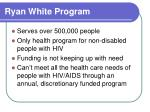 ryan white program