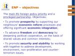 enp objectives