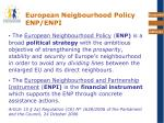 european neigbourhood policy enp enpi
