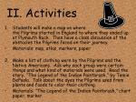 ii activities