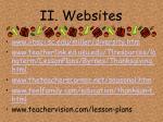 ii websites