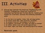 iii activities15