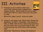 iii activities16