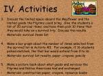 iv activities20
