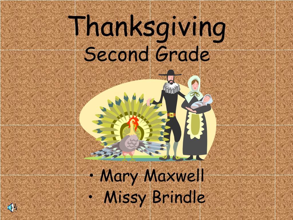 thanksgiving second grade l.