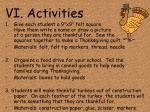 vi activities