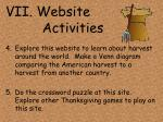 vii website activities32