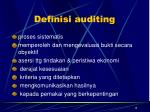 definisi auditing