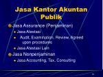 jasa kantor akuntan publik