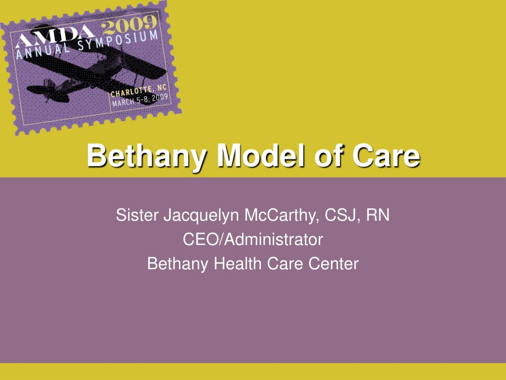 bethany model of care l.
