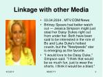 linkage with other media9