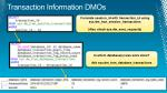 transaction information dmos