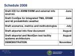 schedule 2008