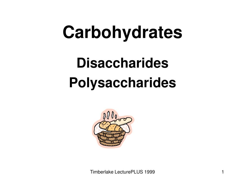 carbohydrates l.