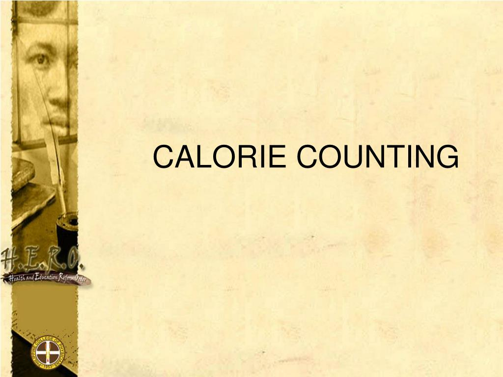 calorie counting l.
