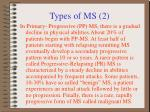 types of ms 2