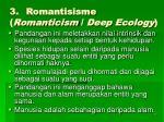 3 romantisisme romanticism deep ecology