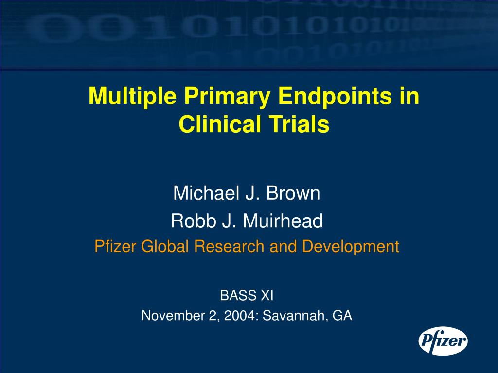 multiple primary endpoints in clinical trials l.