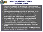smca ibsp business tenets the super seven