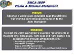 smca ibsp vision mission statement
