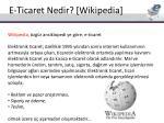 e ticaret nedir wikipedia