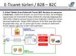 e ticaret t rleri b2b b2c11
