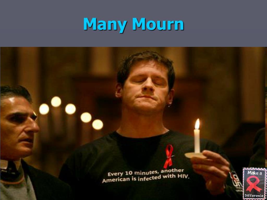 Many Mourn