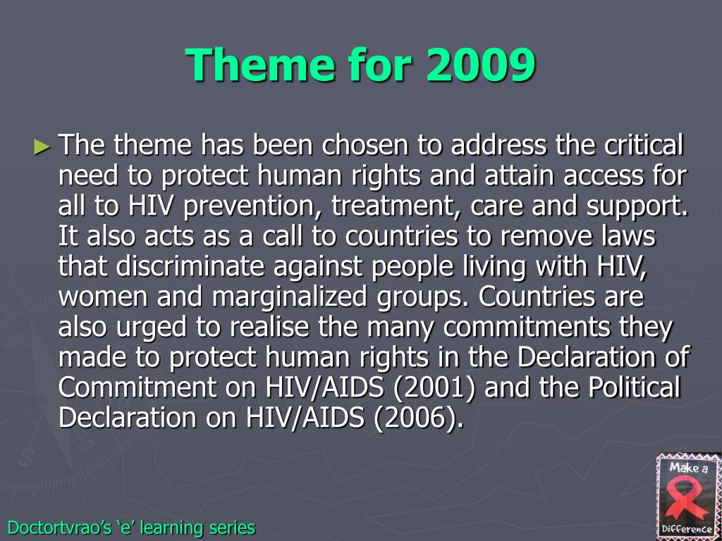 Theme for 2009