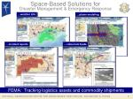 space based solutions for disaster management emergency response