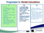 progression in mental calculations5