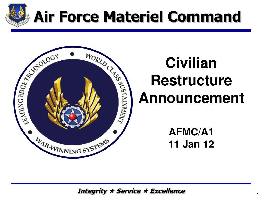 civilian restructure announcement afmc a1 11 jan 12 l.