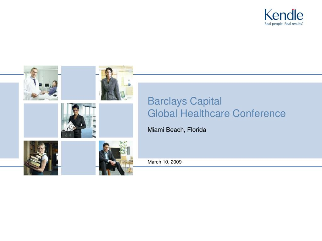barclays capital global healthcare conference l.