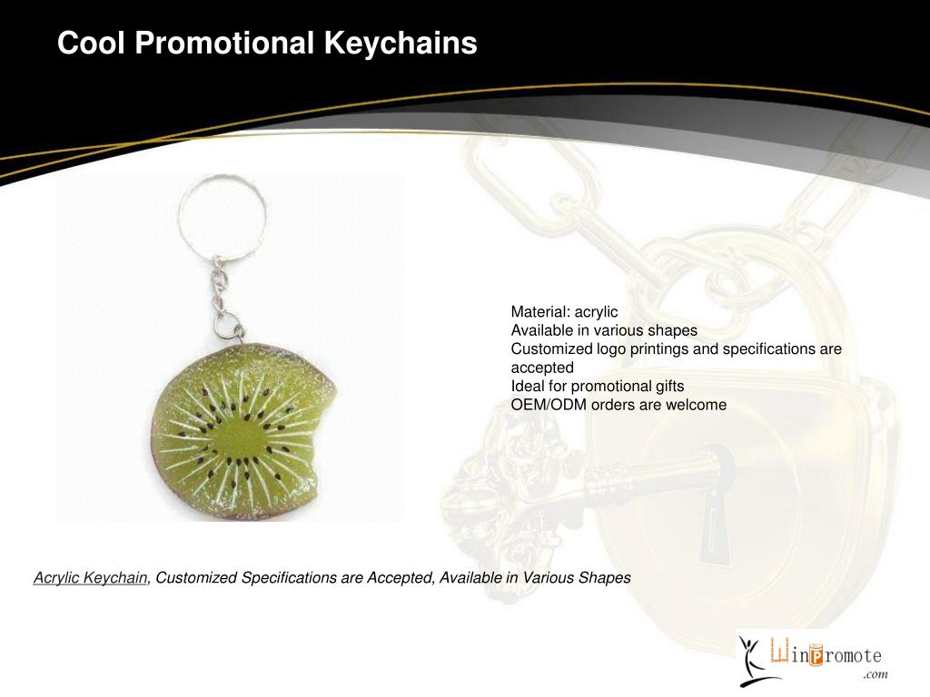 Cool Promotional Keychains