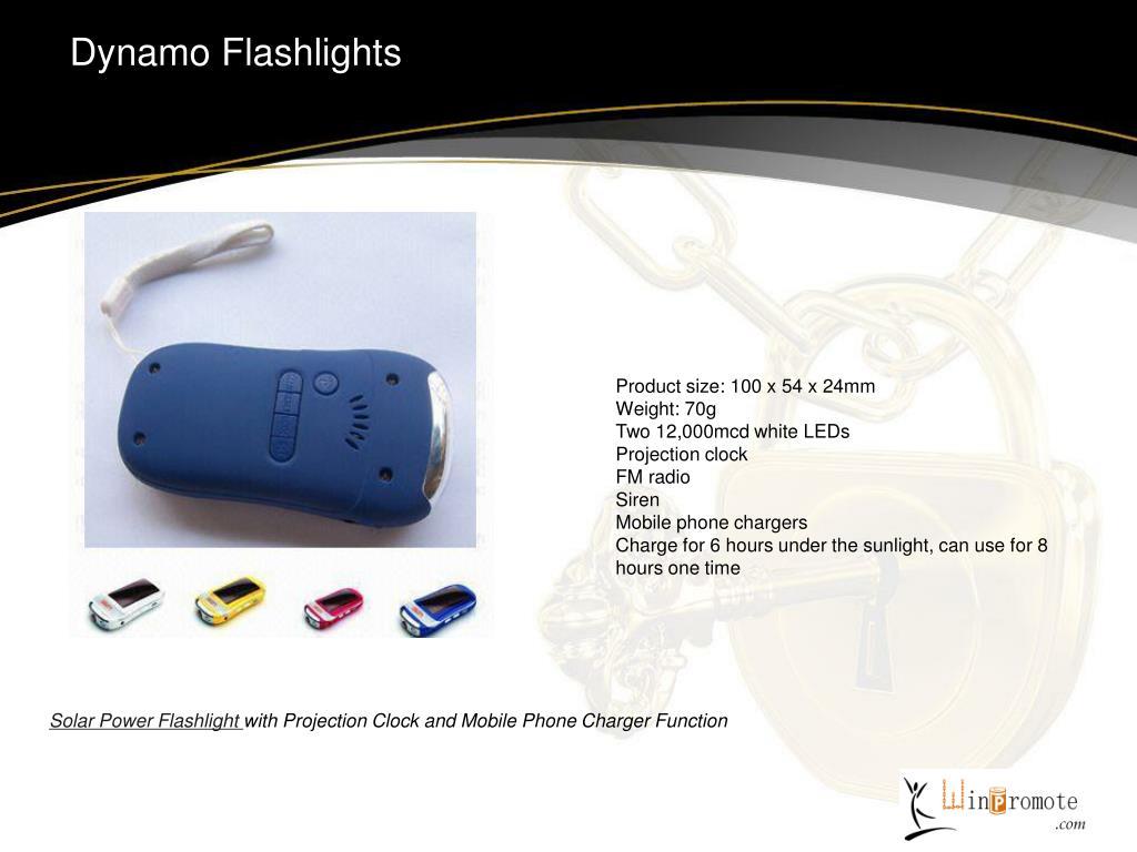 Dynamo Flashlights