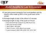 jcjac benefits for law enforcement