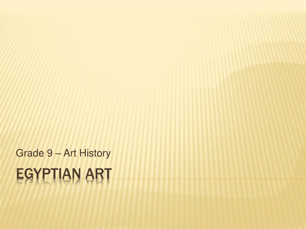grade 9 art history l.