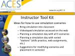 instructor tool kit51