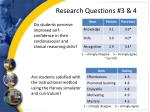 research questions 3 4