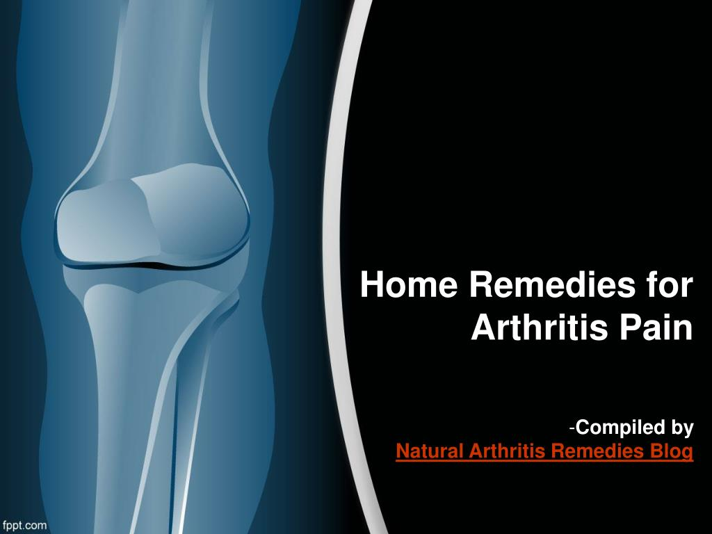 home remedies for arthritis pain l.