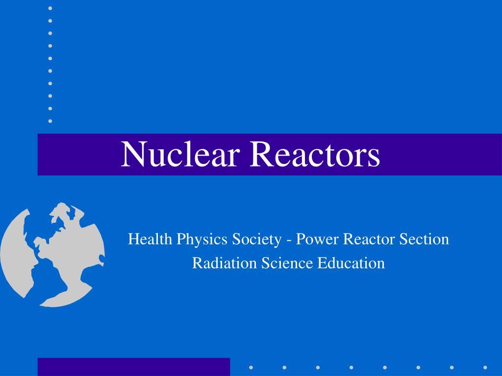 nuclear reactors l.